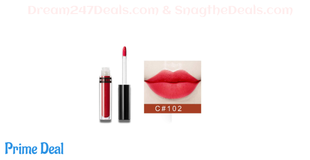 50% OFF   CCPT Lipstick Lip Gloss with Makeup Waterproof Durable Lipcolor -C102