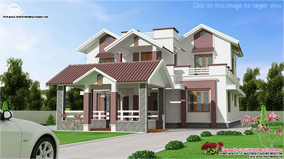 new two floor villa