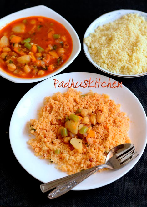 couscous recipe with vegetarian sauce