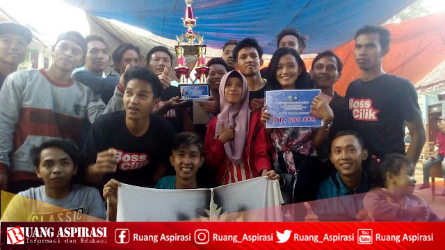 STENBAY Juarai Turnamen Sodor Piala Kades Tlogosari-Sumbermalang