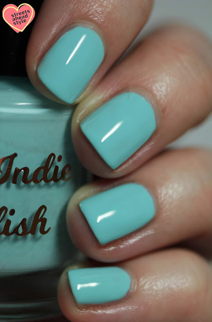 My Indie Polish Thistle Do the Job swatch by Streets Ahead Style