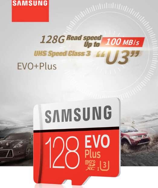 SAMSUNG micro sd card 128GB 256GB Memory Card TF Flash Card