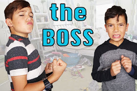 SHAE is the BOSS for 24 hours! pranking my brother!