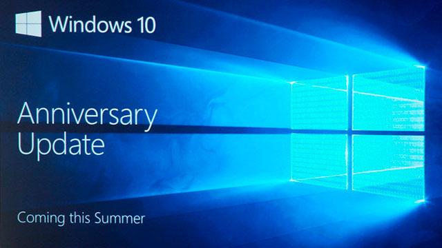 Cómo descargar e instalar Windows 10 Anniversary