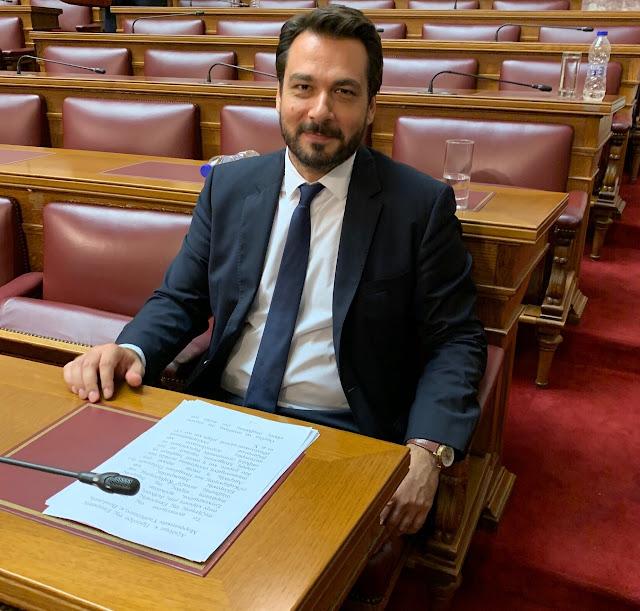 Με ερώτηση στη Βουλή αναδεικνύει το ζήτημα της δια βίου εκπαίδευσης, εργασίας και της εν γένει κοινωνικής ενσωμάτωσης των ΑμεΑ στο κοινωνικό σύνολο, ο βουλευτής Ημαθίας Τάσος Μπαρτζώκας