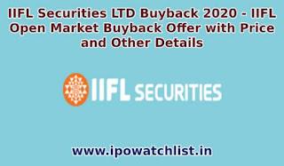 iifl securities buyback