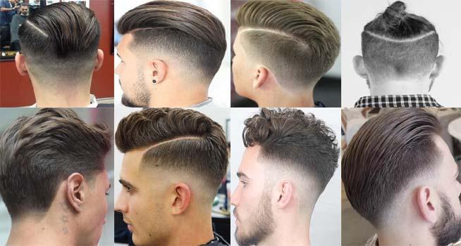 gaya rambut undercut tampak belakang