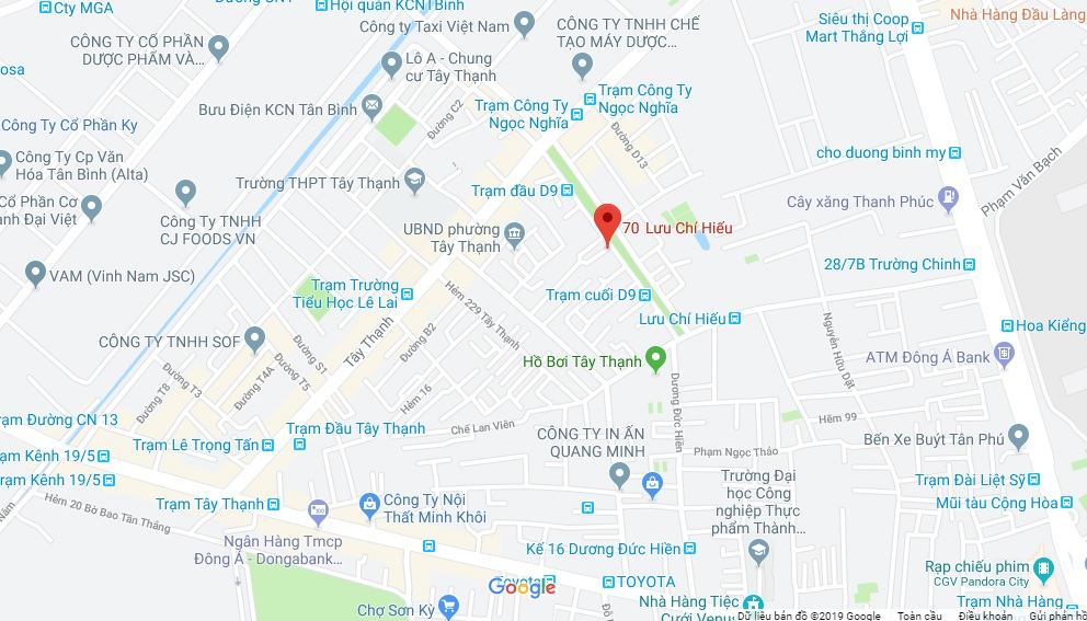 Bán nhà hẻm 70 Lưu Chí Hiếu phường Tây Thạnh quận Tân Phú. DT 3,6x10m