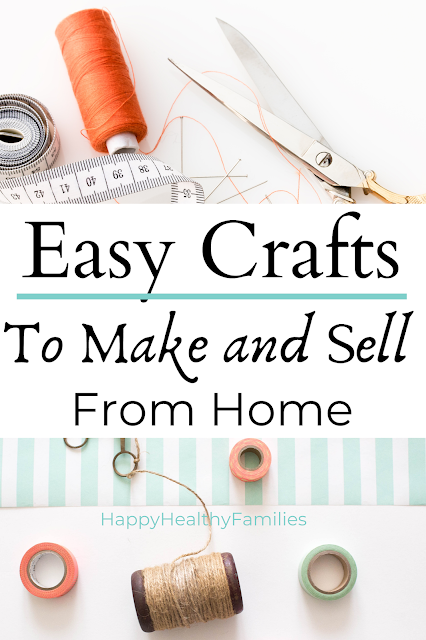 easy ideas for sewing crafts and making crafts to sell to make extra money. Craft ideas and things you can make to sell on Etsy.