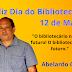 Abelardo Castro presta homenagem aos bibliotecários neste 12 de Março