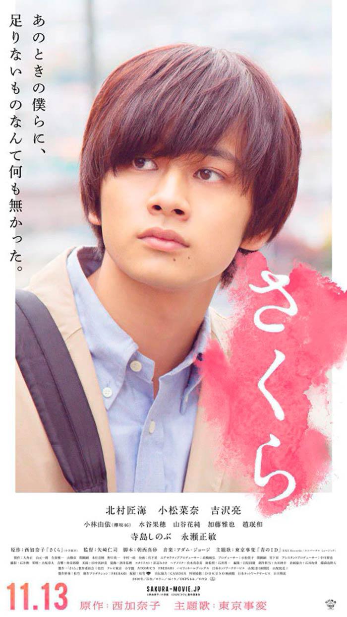 Sakura film - Hitoshi Yazaki - poster (Takumi Kitamura)