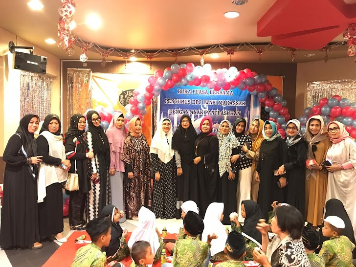 DPC IWAPI Makassar, Berbagi di Bulan Ramdhan  1440-H/2019-M