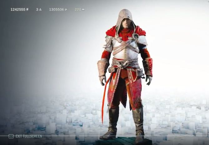 Ac Origins Legendary Outfits Ezio Altair And Isu Armor