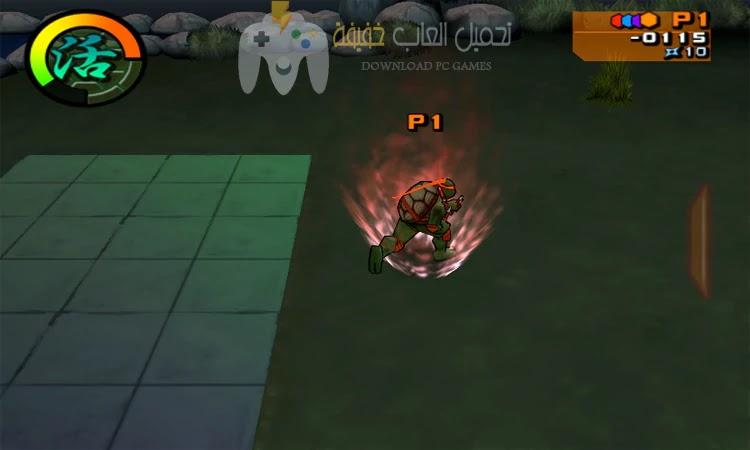 تحميل لعبة سلاحف النينجا 2 Ninja Turtles للكمبيوتر بحجم صغير