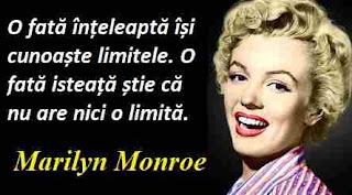 Maxima zilei: 1 iunie - Marilyn Monroe