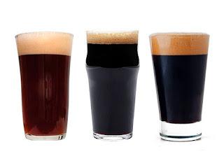 Tres cervezas de estilos Porter