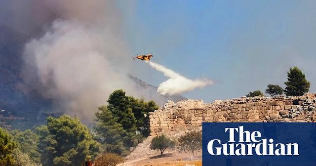 Παγκόσμιο ενδιαφέρον για την πυρκαγιά στις Μυκήνες