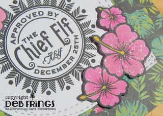 Chief Elf detail 1 - photo by Deborah Frings - Deborah's Gems