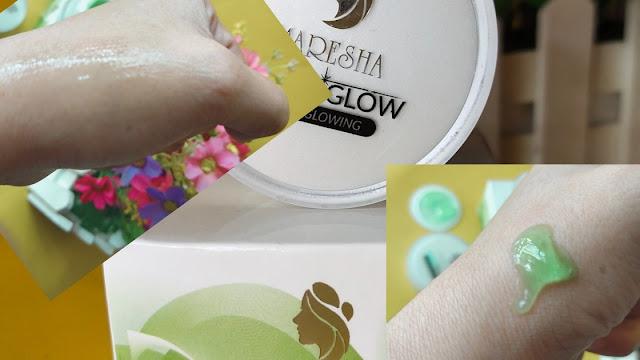 Review maresha Skincare Green glow bikin glowing