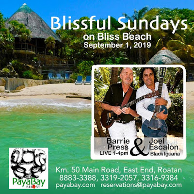 special events, bliss beach, the black iguana, live music, blissful sundays, paya bay resort, #payabay, #payabayresort,