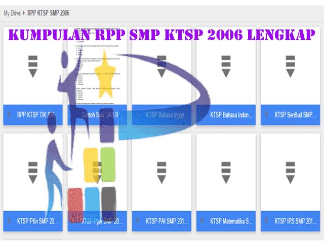 Download Kumpulan RPP SMP KTSP 2006 lengkap