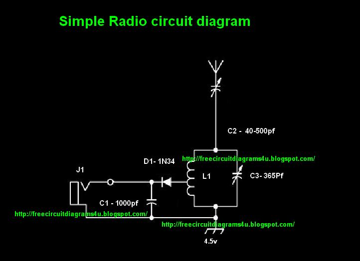 Simple Fm Transmitter Diagram