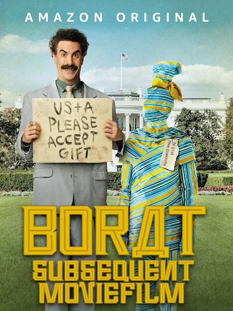 Póster película Borat 2 - Borat Subsequent Moviefilm
