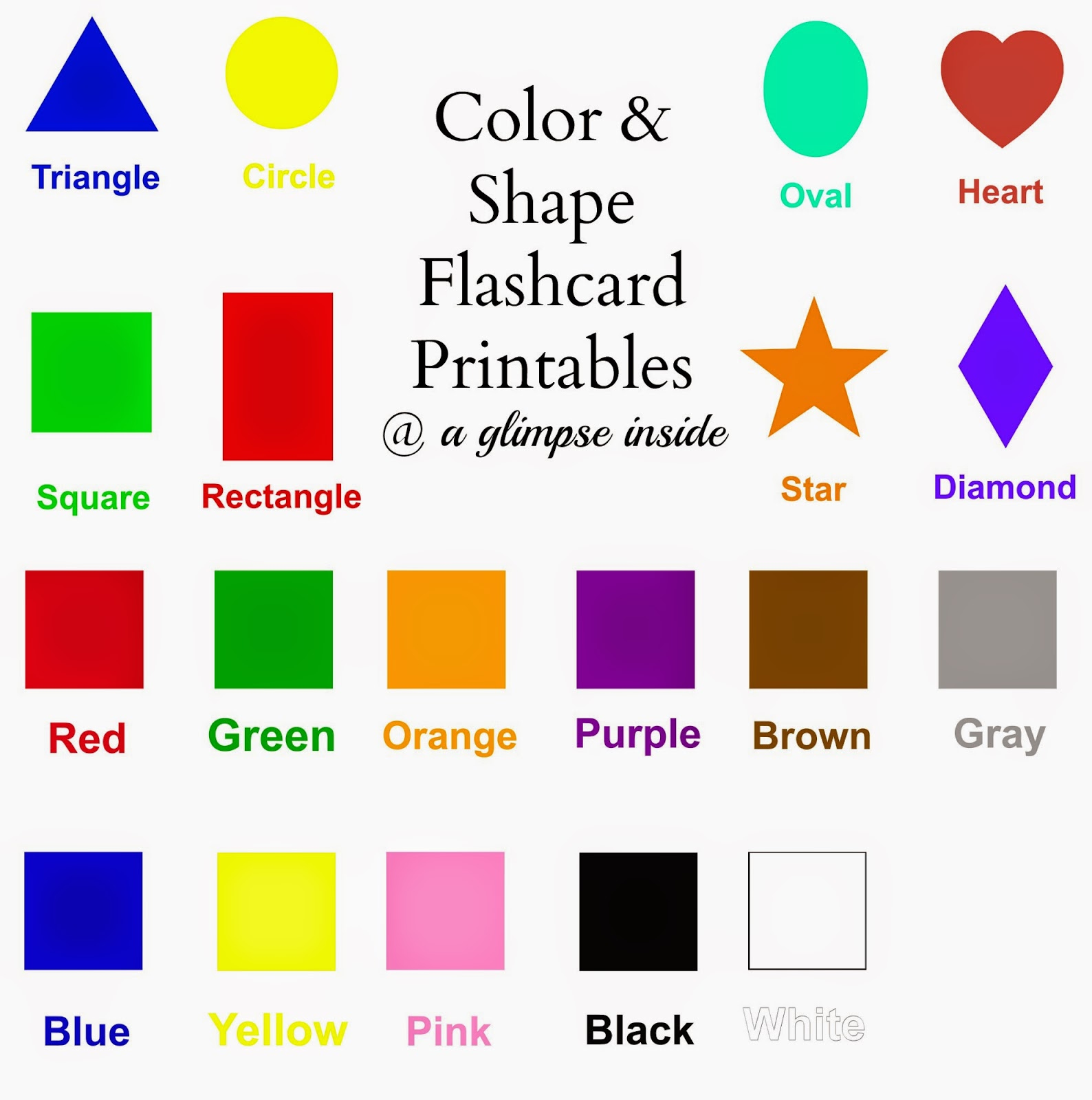 Alphabet Flashcards Printables The Party Fetti Blog