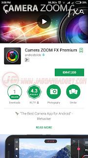 Camera zoom FX aplikasi keren android