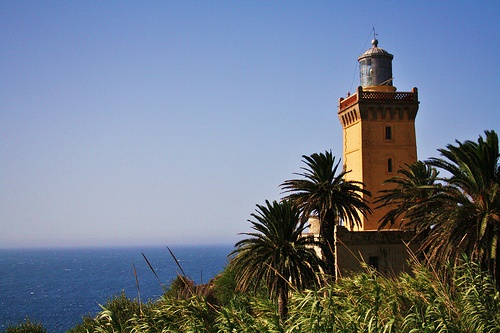 Cap Spartel Lighthouse in Morocco