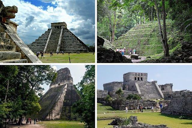 cidades maias