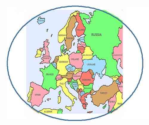 Eropa Timur Gambar Peta Benua Eropa Daftar Negara Di Benua Eropa Beserta Ibu Kota Dan Mata Uangnya Juragan Les