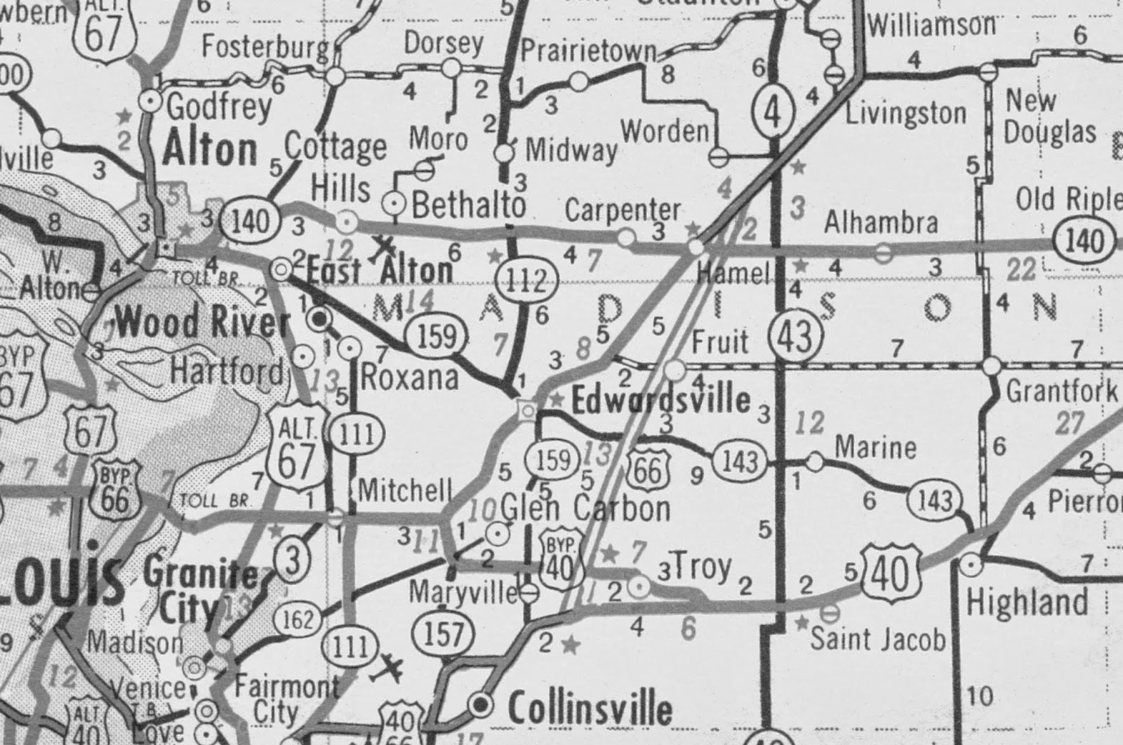 Route 66 In Madison County