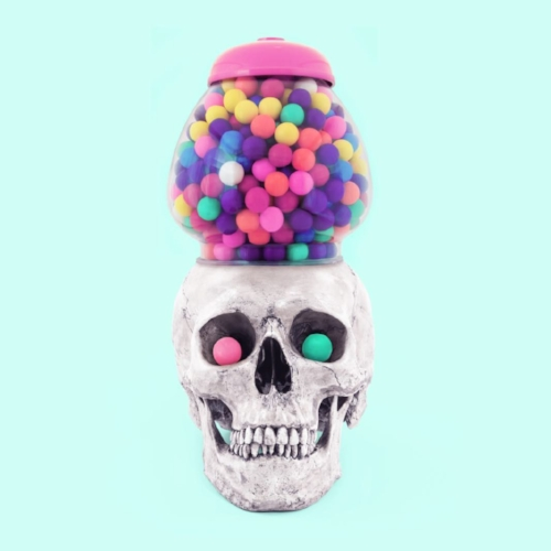 """Bubble Skull"" por Paul Fuentes 
