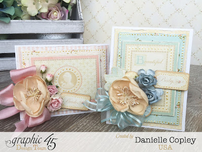 Baby/ Bridal Cards with Graphic 45's Baby 2 Bride