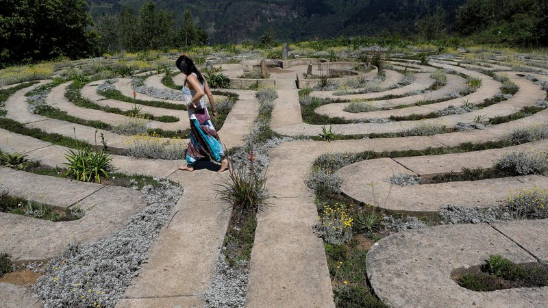 Why people are attracted to labyrinths