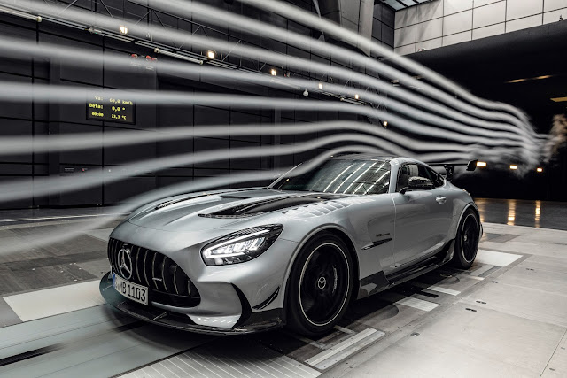 The new Mercedes-AMG GT Black Series