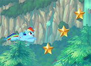 MLP el super vuelo de Rainbow Dash juego