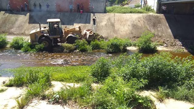 Este lunes 7 de septiembre iníciaron la Jornada de Limpieza en el Río Morón
