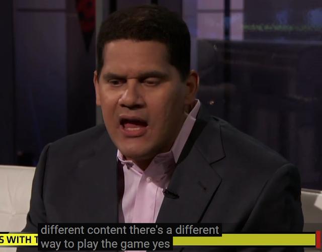 Reggie Fils-Aime Batman Arkham City not the same game content Nintendo Wii U