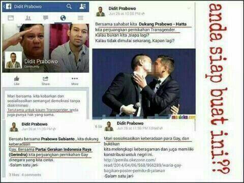 Anak Prabowo Ini Dituding Berkampanye Untuk Mendukung Komunitas Gay. Benarkah? Ini Videonya!!