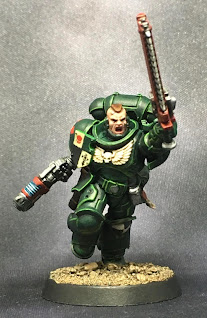 Dark Angels Assault Intercessor Sergeant