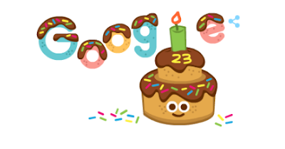 Google Is Celebrating Its 23rd Birthday Today