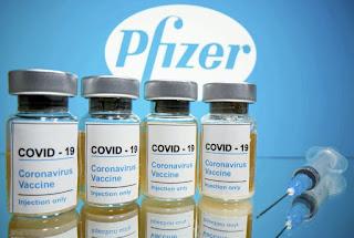 ファイザー製のワクチンの写真