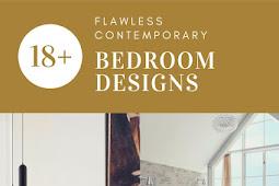 18+ Flawless Contemporary Bedroom Designs