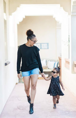 These photos of Tamera Mowry and daughter are so cute!