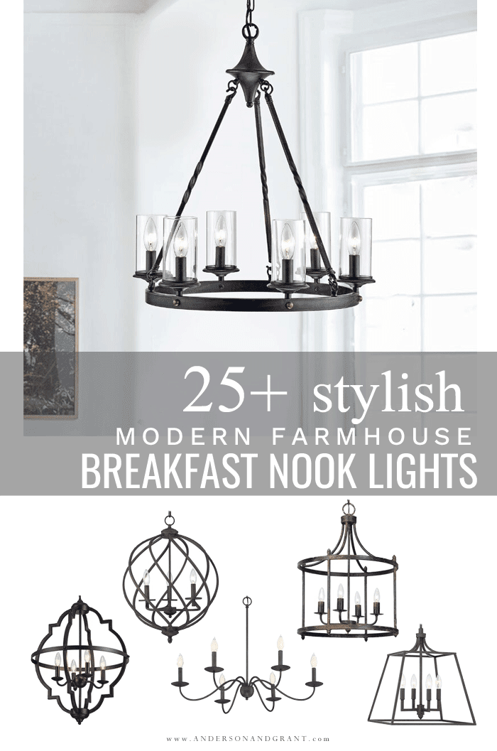 25+ breakfast nook lights