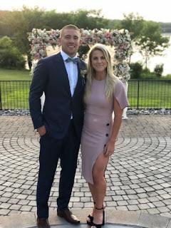 Zach Ertz With His Wife