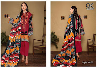Gul Ahmed Al Karam Kesariya Pakistani Lawn Collection In Wholesale Rate