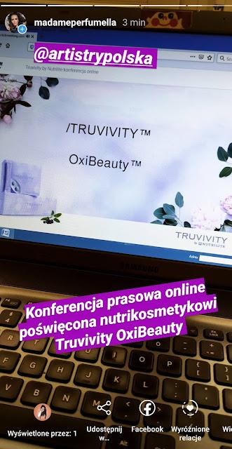 truvivity oxibeauty polska konferencja prasowa online